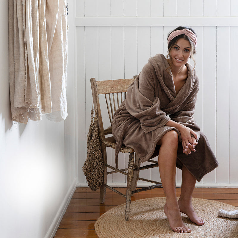 Microplush Bath Robe
