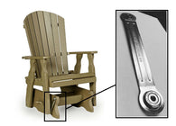 Glider Bearings - Brackets for outdoor and indoor furniture