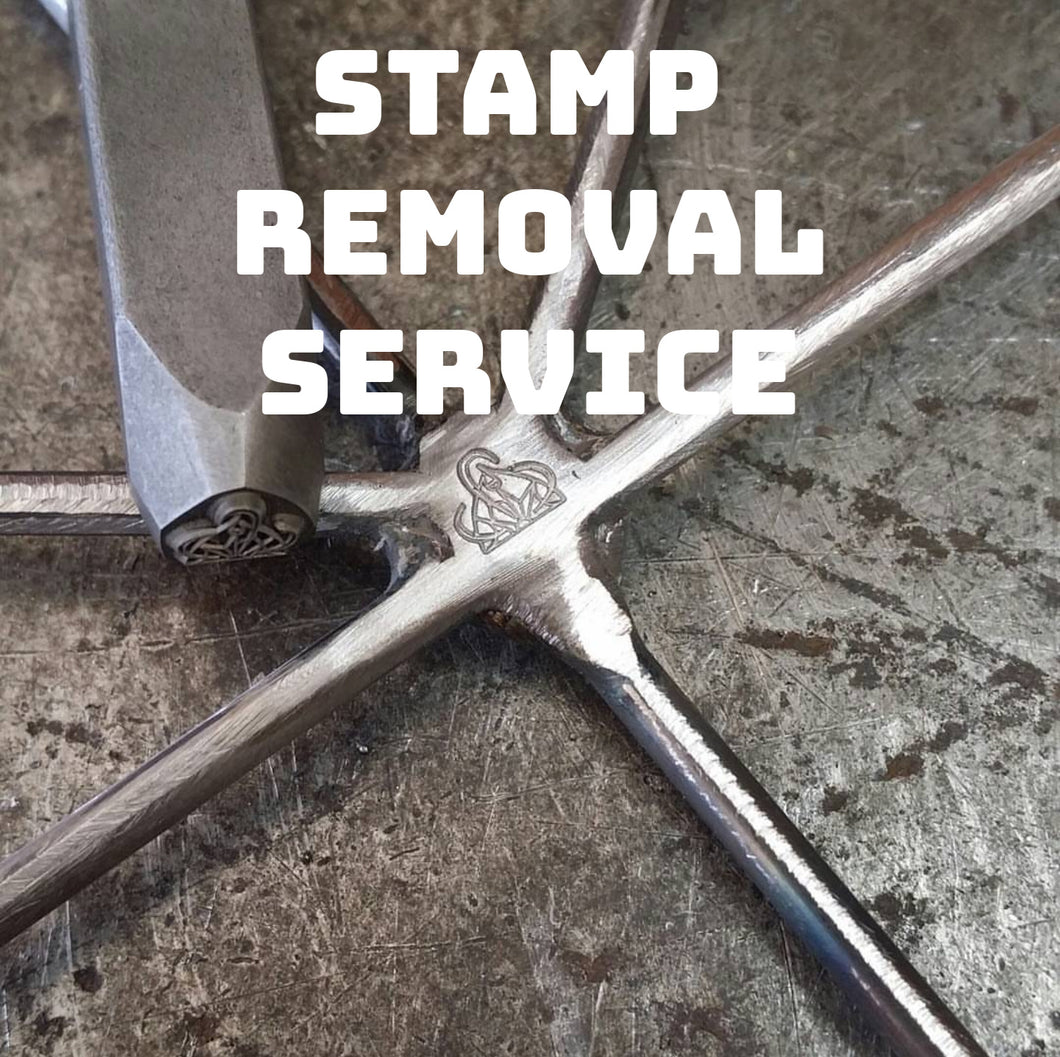 Stamp Removal Service - Forged Creations