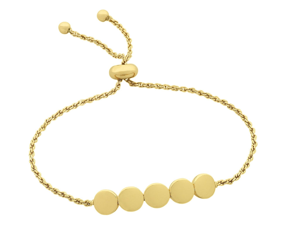 Buy Addison Bracelet - Gold by Liberte - at White Doors & Co