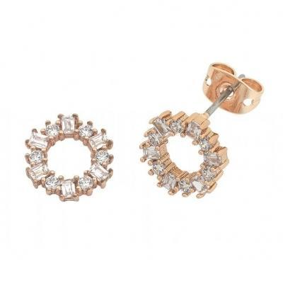 Buy Anna Earrings- Rose Gold by Liberte - at White Doors & Co