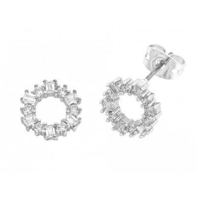 Buy Anna Earrings- Silver by Liberte - at White Doors & Co