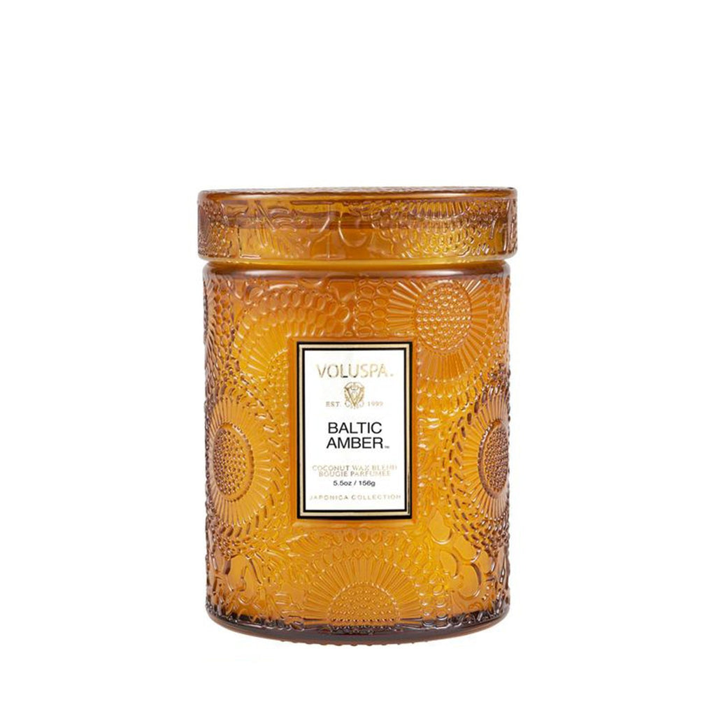 Buy Baltic Amber Glass Candle by Voluspa - at White Doors & Co