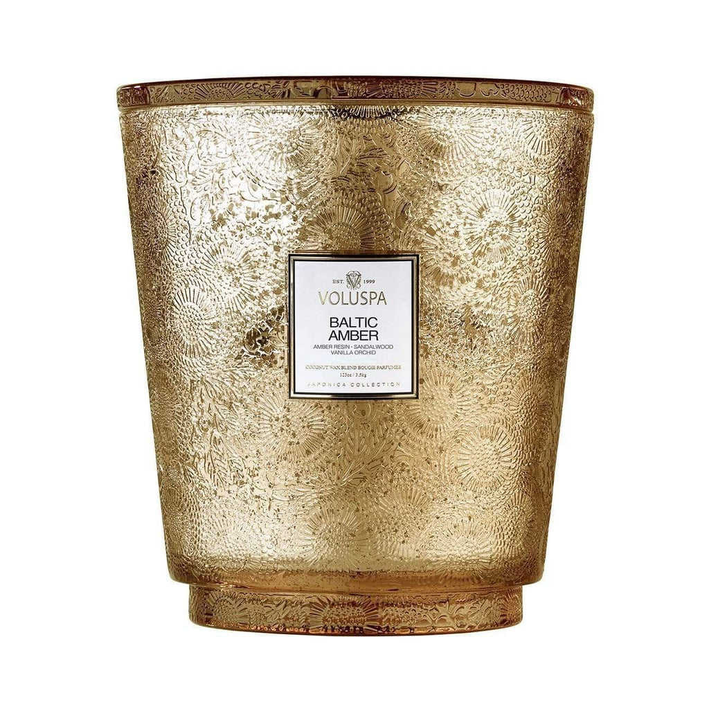 Buy Baltic Amber Hearth Candle by Voluspa - at White Doors & Co