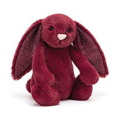 Buy Bashful Sparkly Cassis Bunny Small by IndependenceStudios - at White Doors & Co