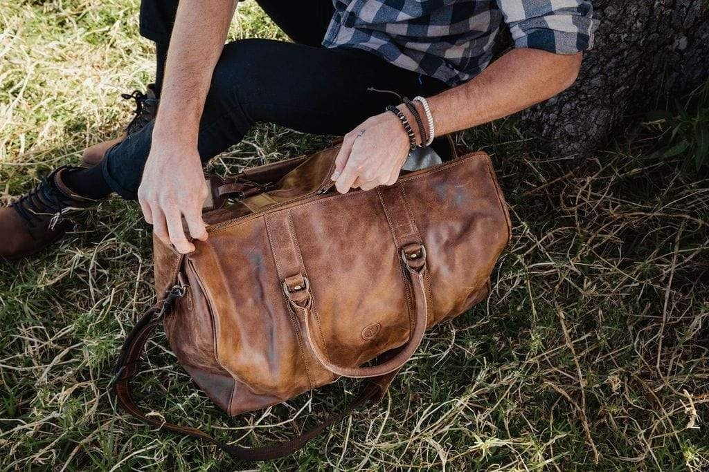 Buy Beckwith Duffle - CH Tan by Indepal - at White Doors & Co