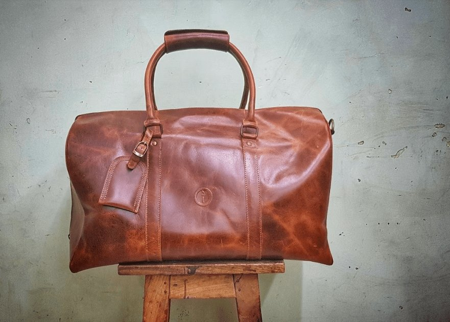 Buy Beckwith Duffle - Dusty Antique by Indepal - at White Doors & Co