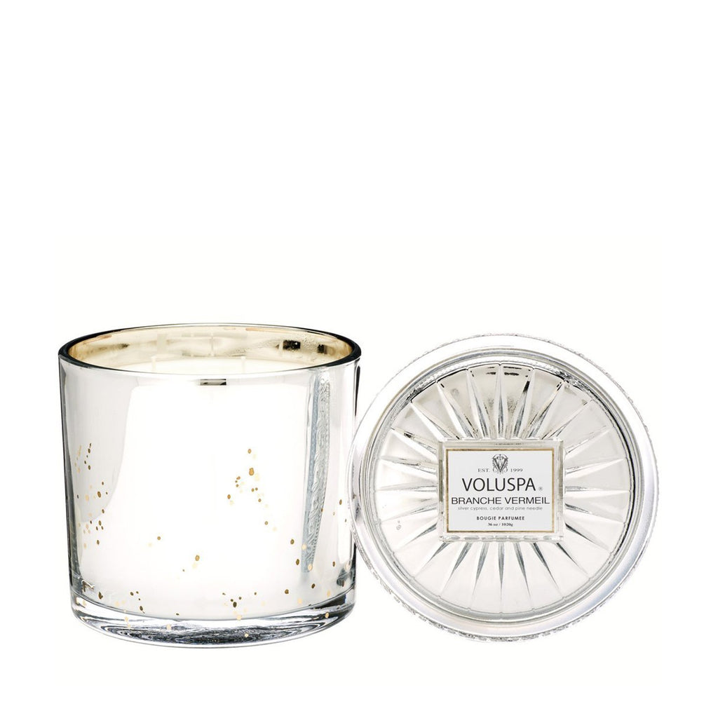 Buy Branche Vermeil Grande Candle by Voluspa - at White Doors & Co