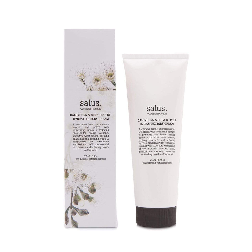 Buy Calendula & Shea Butter Hydrating Body Cream - 250ml by Salus - at White Doors & Co