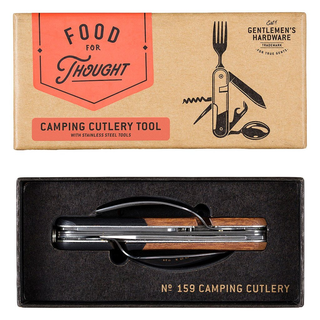 Buy Camping Cutlery Tool by Wild & Wolf - at White Doors & Co