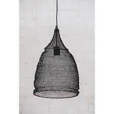Buy Crochet Lamp - Cone by Ruby Star Traders - at White Doors & Co