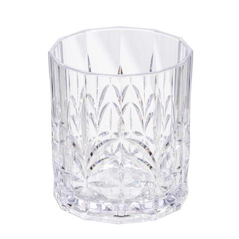Buy Crystal Cut Tumbler-Clear by Flair - at White Doors & Co