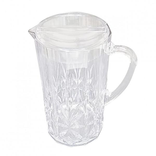 Buy Crystal Pitcher -Clear by Flair - at White Doors & Co