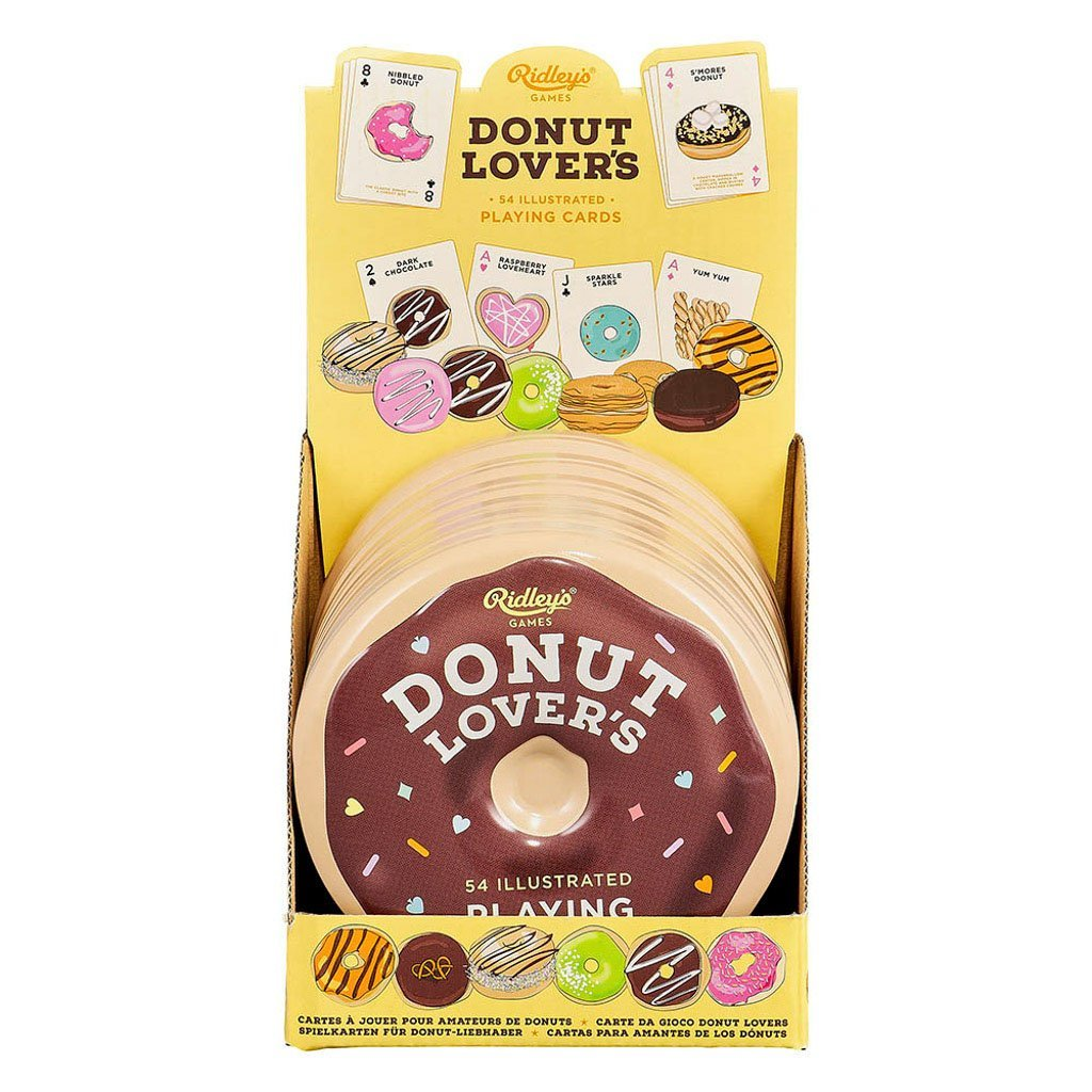 Buy Donut Lover's Playing Cards Game by Wild & Wolf - at White Doors & Co