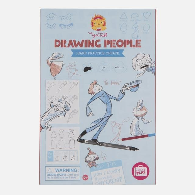Buy Drawing People by Tiger Tribe - at White Doors & Co