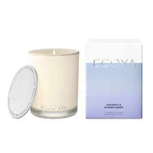 Buy Ecoya Coconut & Elderflower Madison Candle by Ecoya - at White Doors & Co