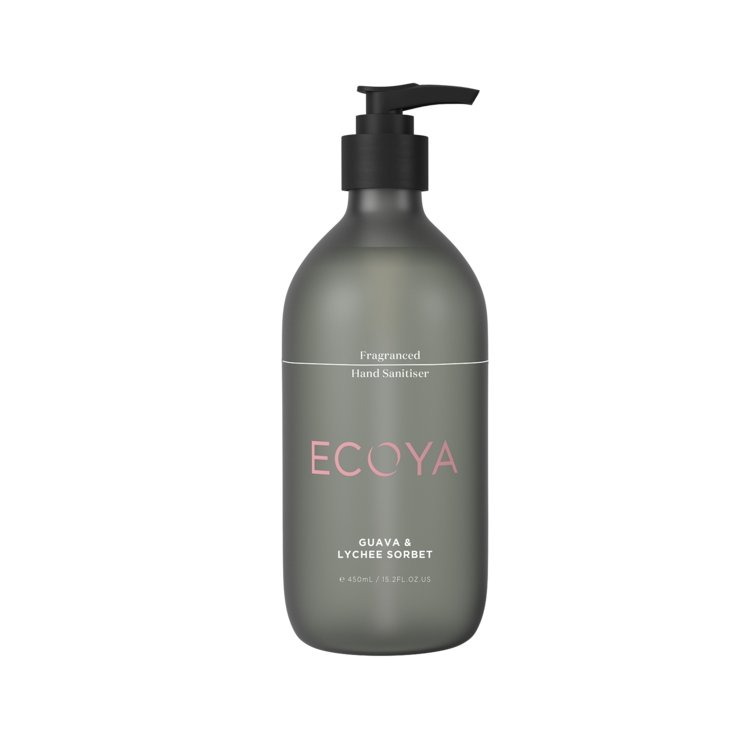 Buy Ecoya Hand Sanitiser - Guava & Lychee by Ecoya - at White Doors & Co