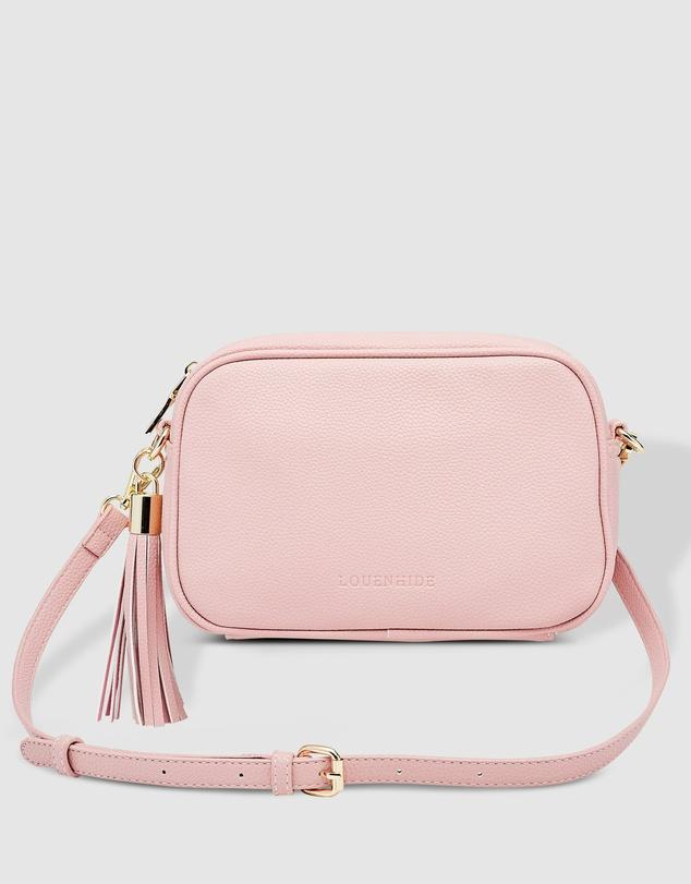 Buy Gigi Crossbody Bag -Pink by Louenhide - at White Doors & Co