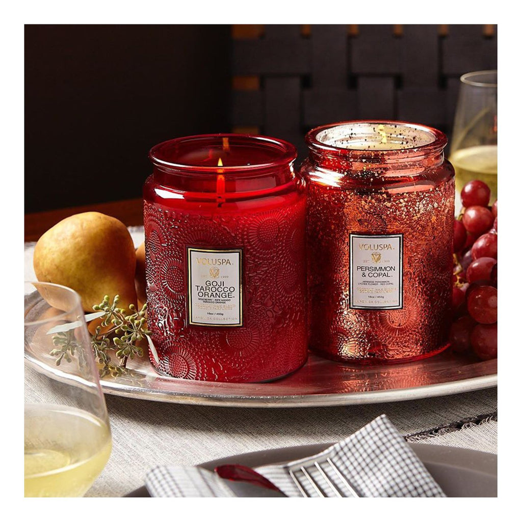 Buy Goji & Tarocco Orange Candle by Voluspa - at White Doors & Co