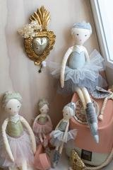 Buy Grace Ballerina - White by Nana Huchy - at White Doors & Co