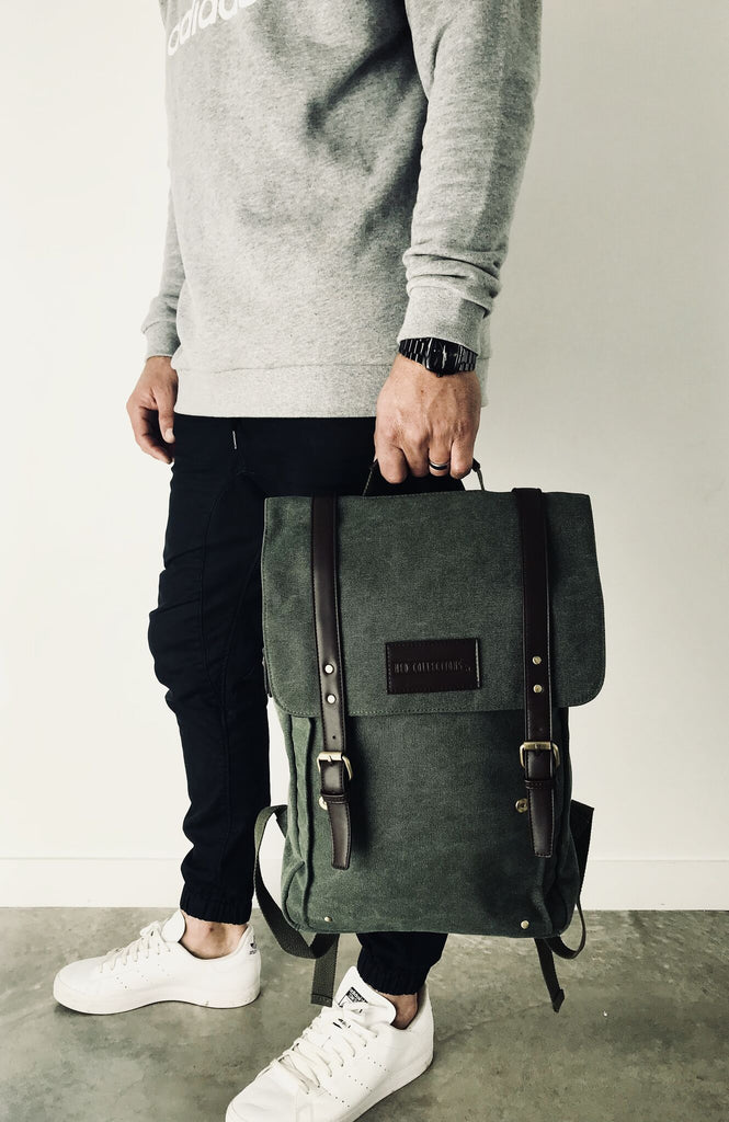 Buy Huey Backpack by Ned Collections - at White Doors & Co