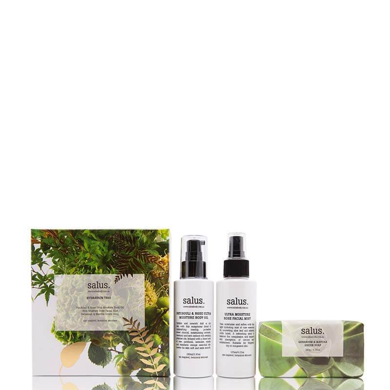 Buy Hydration Trio Pack - Value $60.00 by Salus - at White Doors & Co