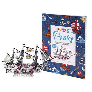 Buy IS GIFT Puzzle Book - Pirates by IndependenceStudios - at White Doors & Co