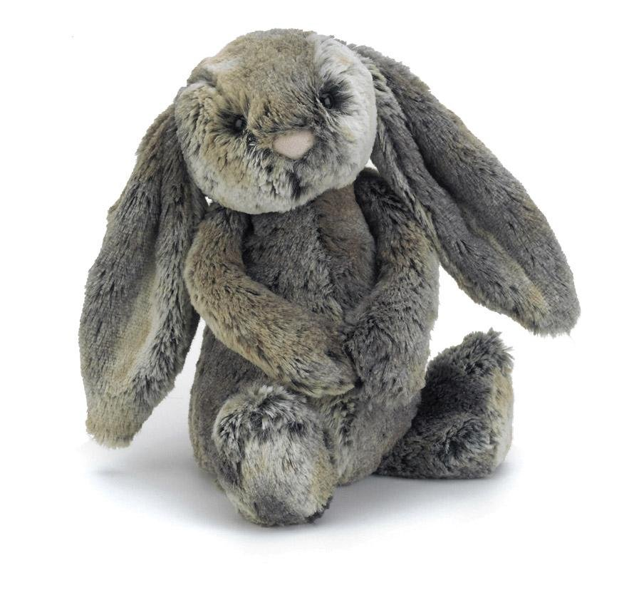 Buy Jellycat Bashful Cottontail Bunny Medium by Jellycat - at White Doors & Co