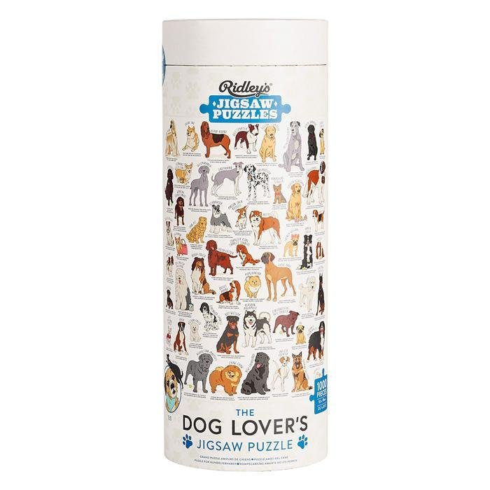 Buy Jigsaw Puzzle 1000 pcs Dog Lovers by Wild & Wolf - at White Doors & Co