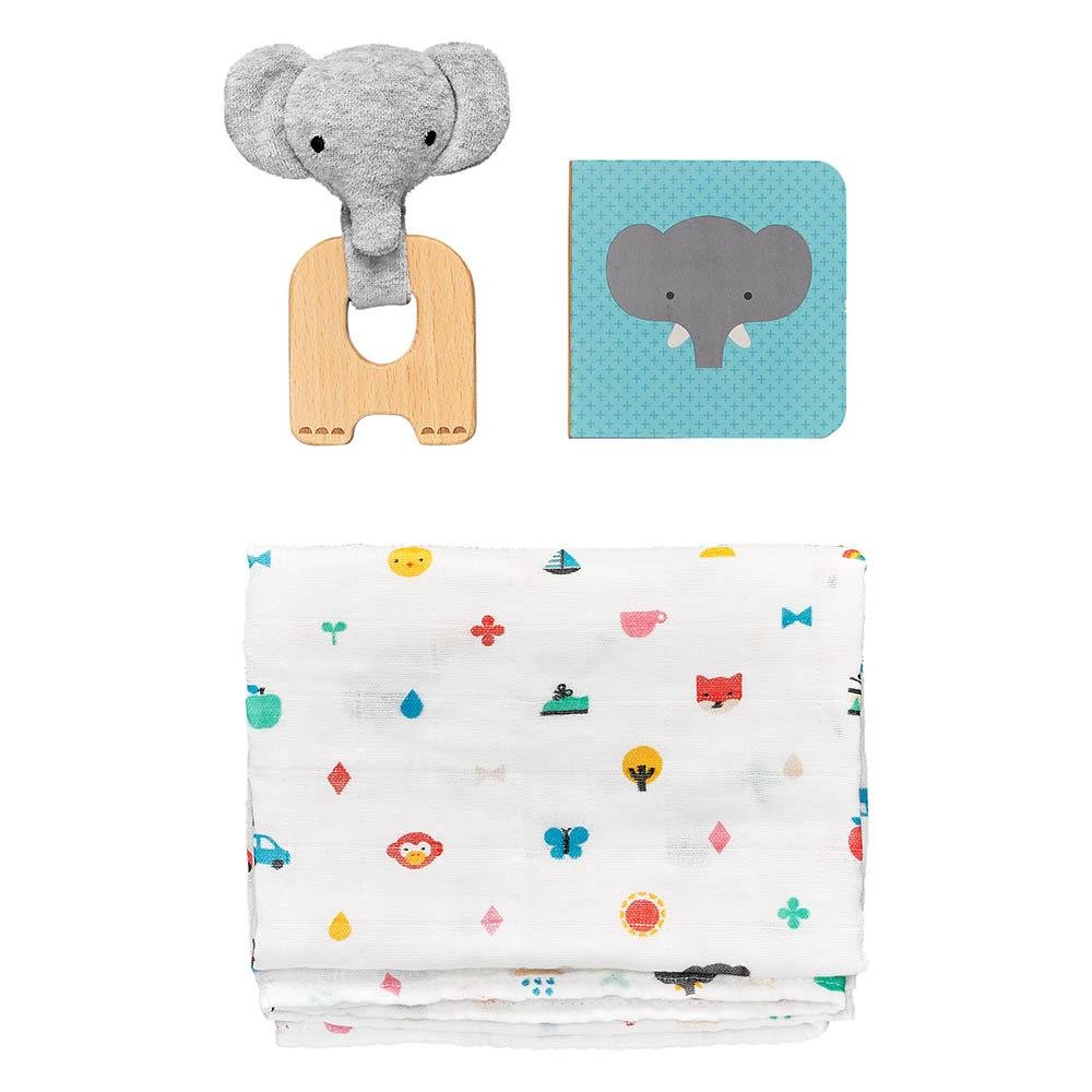 Buy Little Elephant Gift Set by Petit Collage - at White Doors & Co