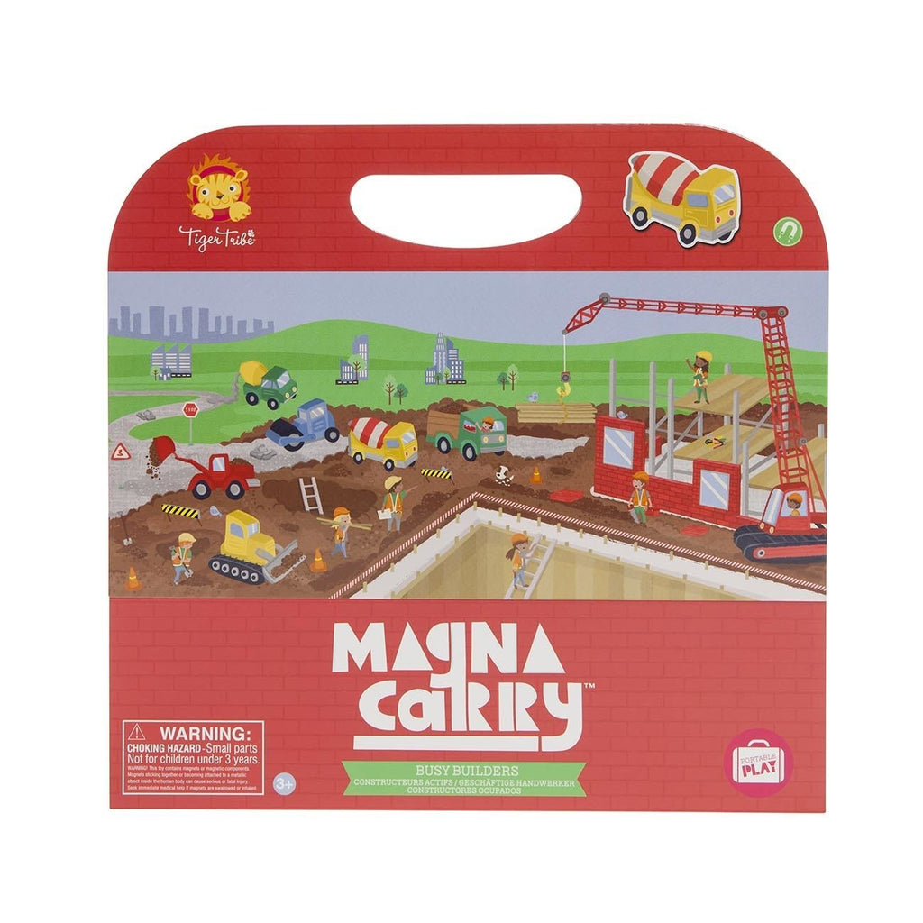 Buy Magna Carry - Busy Builders by Tiger Tribe - at White Doors & Co