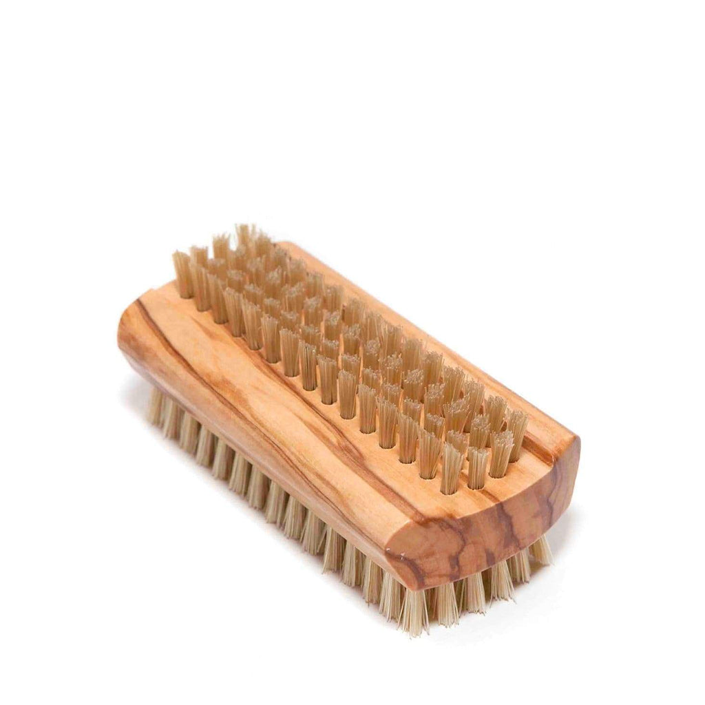 Buy Olive Wood Nail Brush by Redecker - at White Doors & Co