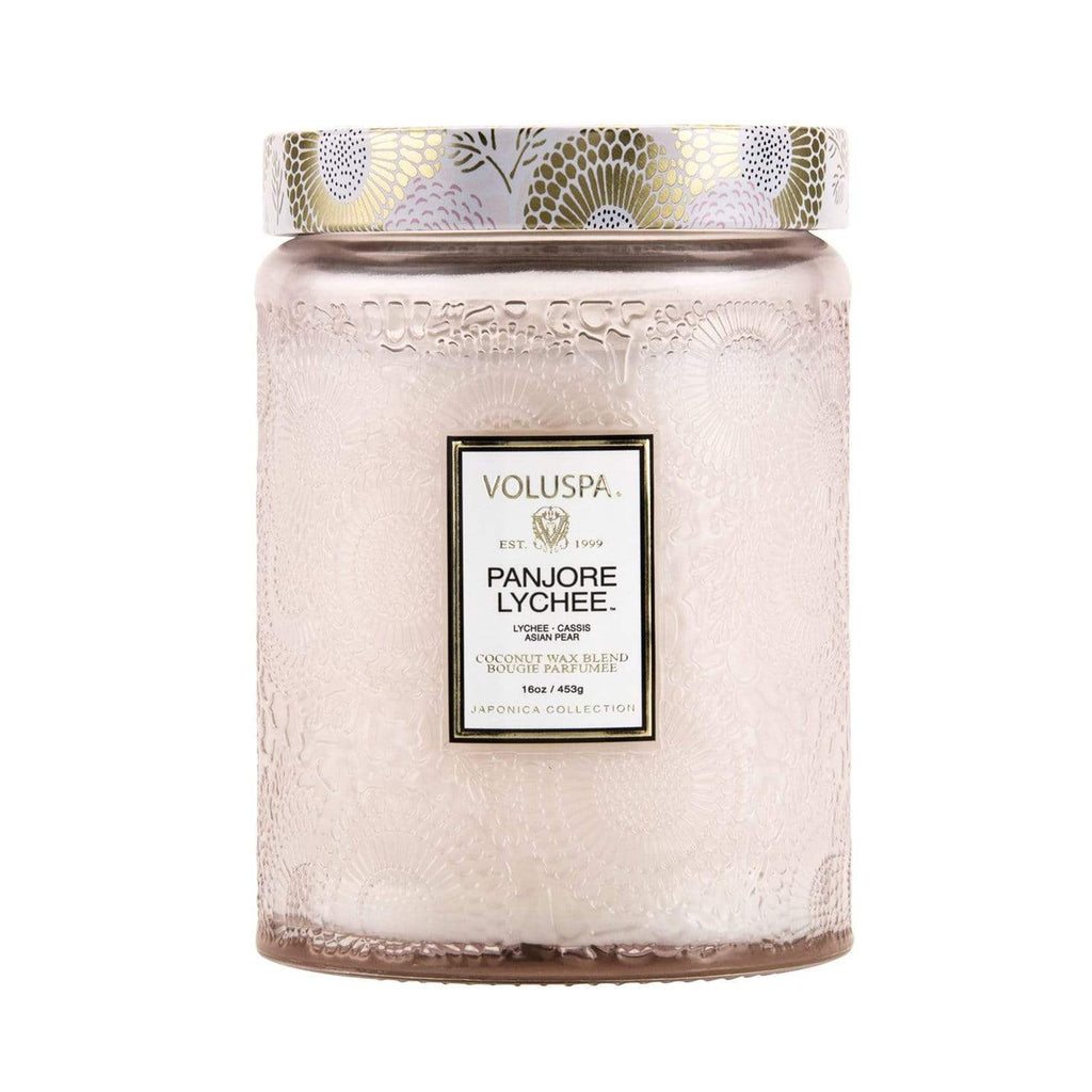 Buy Panjore Lychee Candle by Voluspa - at White Doors & Co