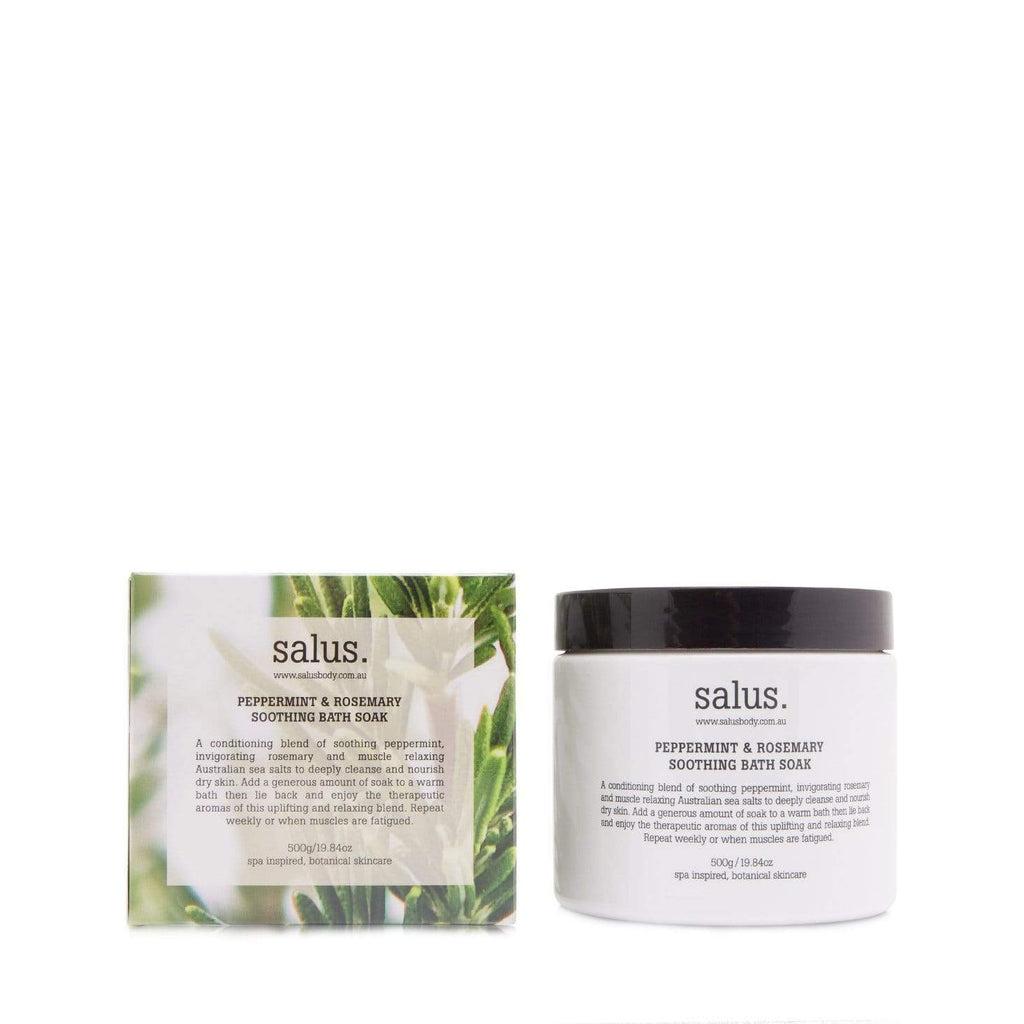 Buy Peppermint & Rosemary Soothing Bath Soak by Salus - at White Doors & Co