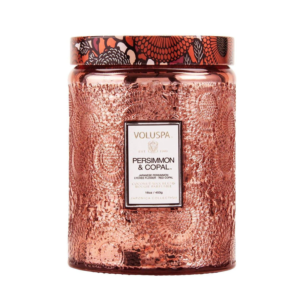 Buy Persimmon Copal Candle by Voluspa - at White Doors & Co