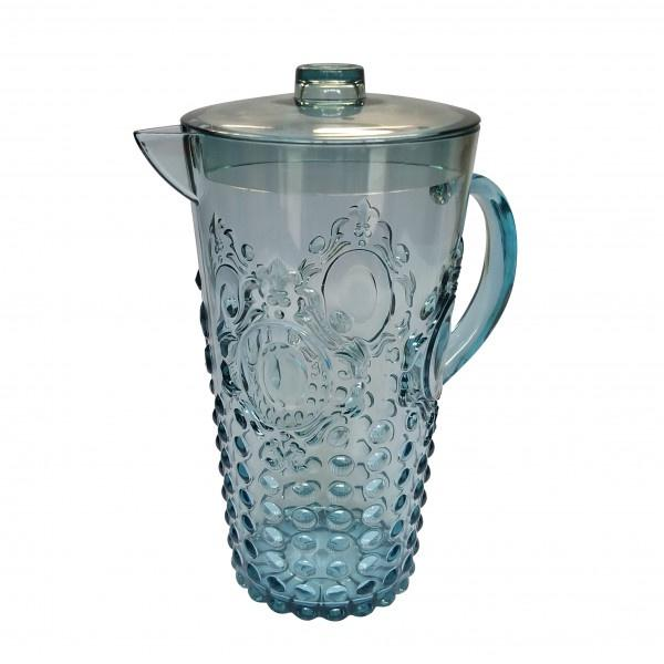 Buy Pitcher Acrylic - Aqua by Flair - at White Doors & Co