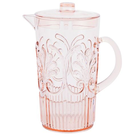Buy Pitcher Acrylic - Blush by Flair - at White Doors & Co