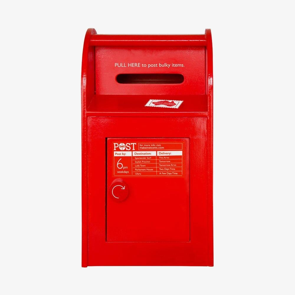 Buy Post Box by Make Me Iconic - at White Doors & Co