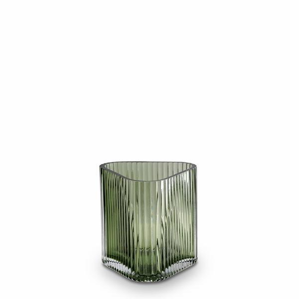 Buy Profile Vase, Green - Small by Marmoset Found - at White Doors & Co