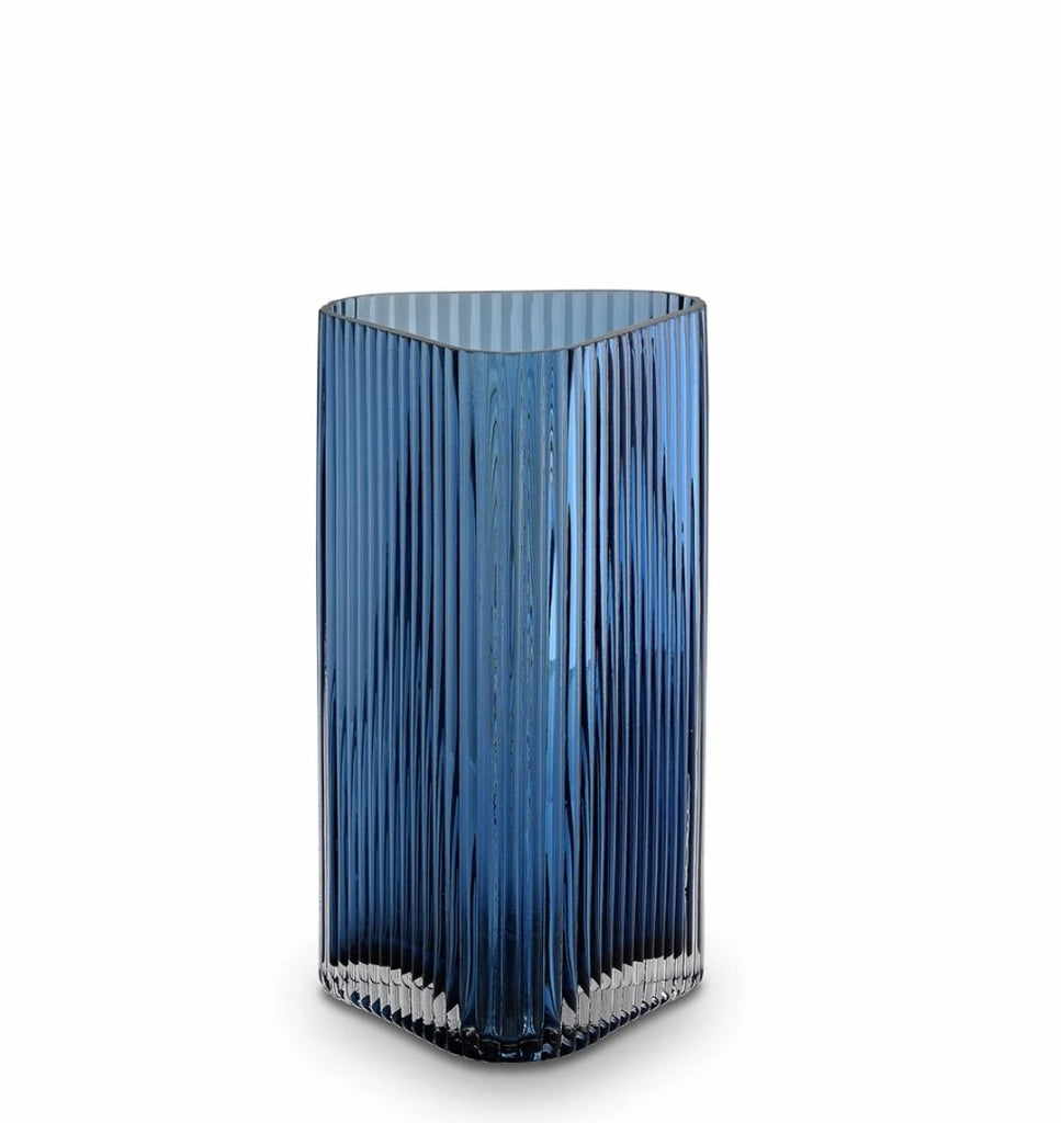 Buy Profile Vase, Ink Blue - Medium by Marmoset Found - at White Doors & Co