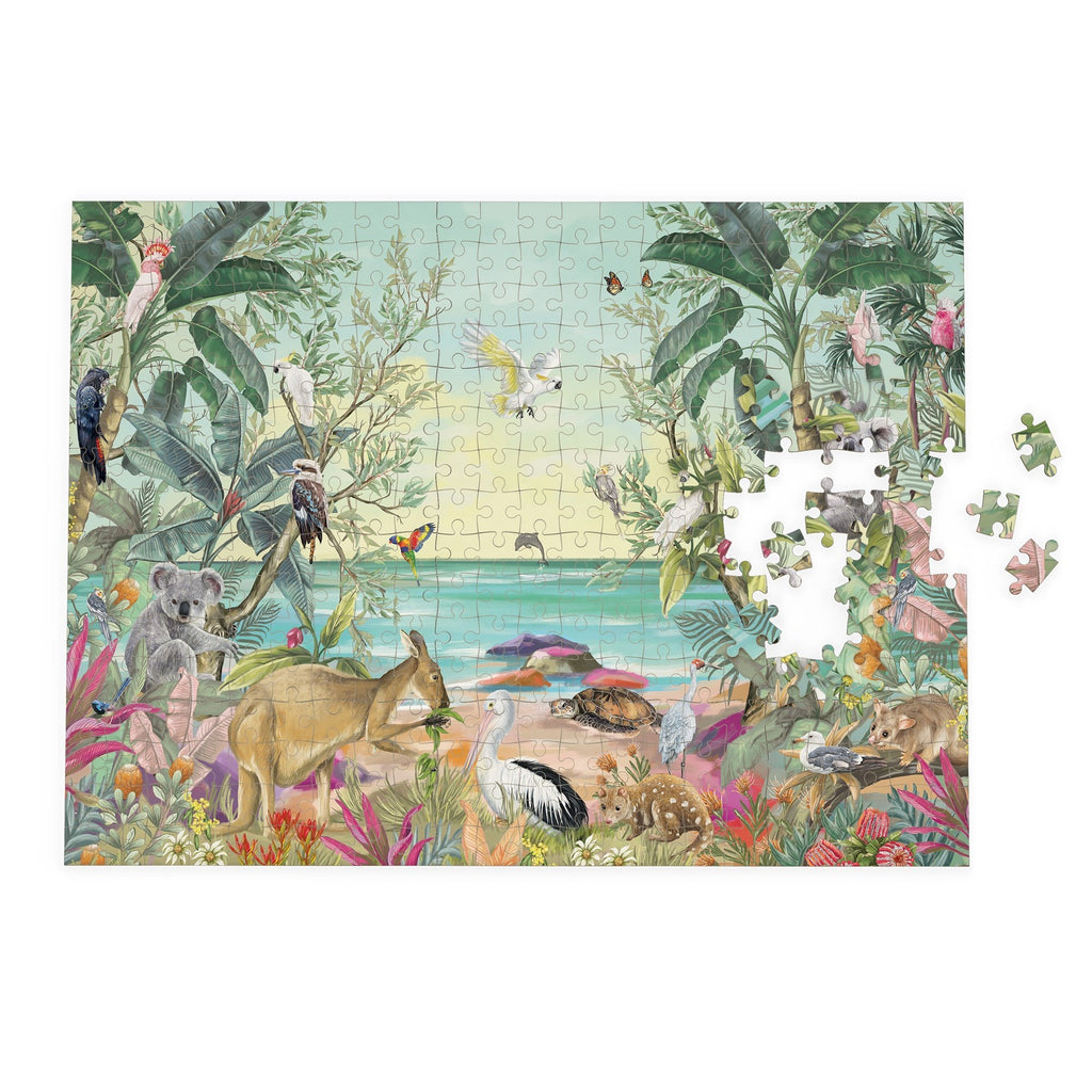 Buy Puzzle Nature Dwellings Tropical by La La Land - at White Doors & Co