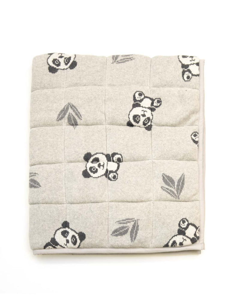 Buy Quilt - Panda by Indus Design - at White Doors & Co