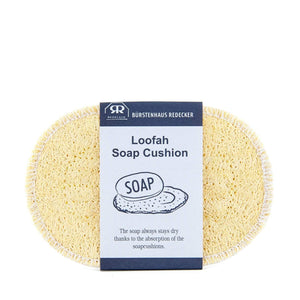 Loofah Soap Cushion + Sponge