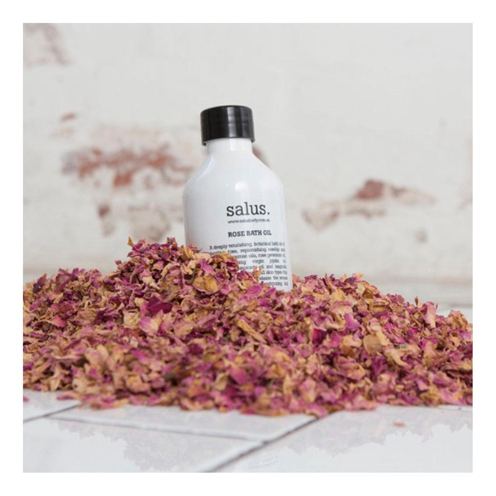 Buy Rose Bath Oil by Salus - at White Doors & Co