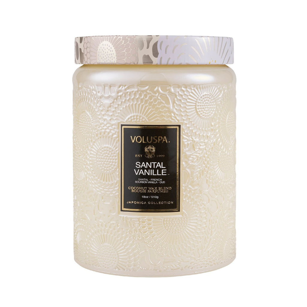 Buy Santal Vanille Candle by Voluspa - at White Doors & Co