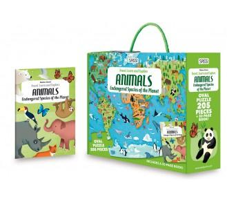 Buy Sassi Travel Learn & Explore - Endangered Species of Planet by Axis - at White Doors & Co
