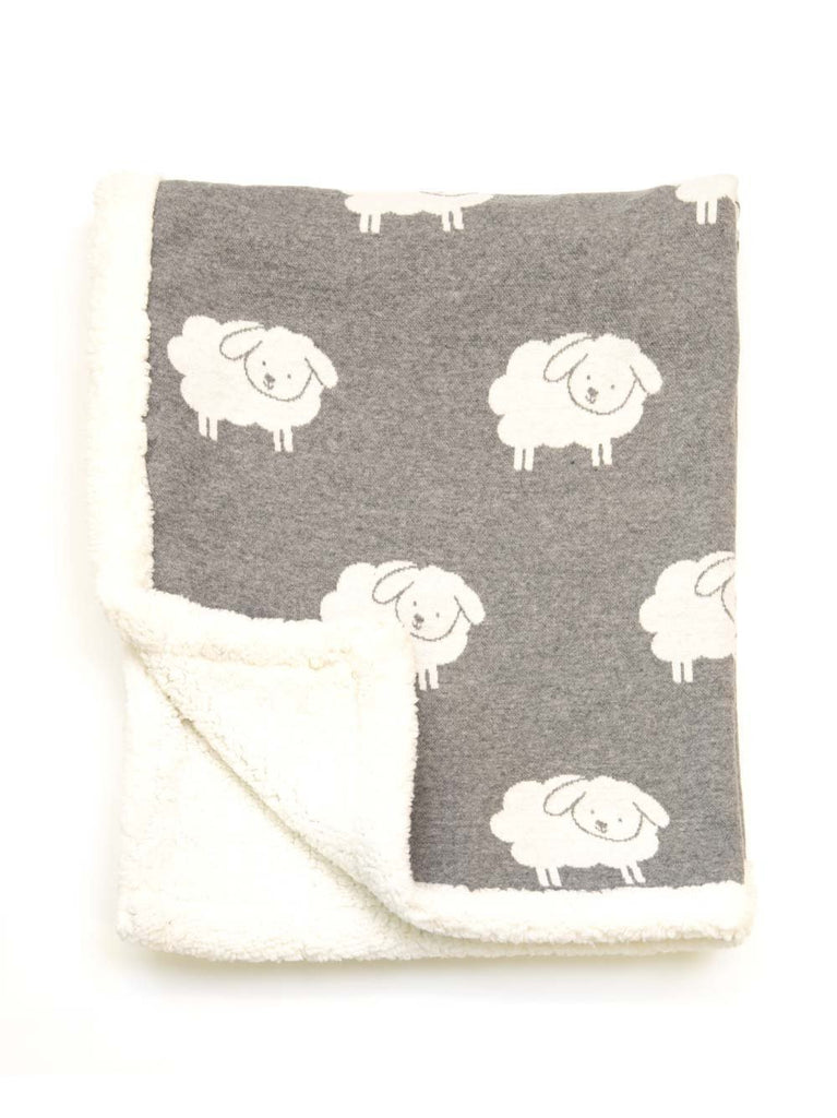 Buy Sherpa Lamb Blanket by Indus Design - at White Doors & Co
