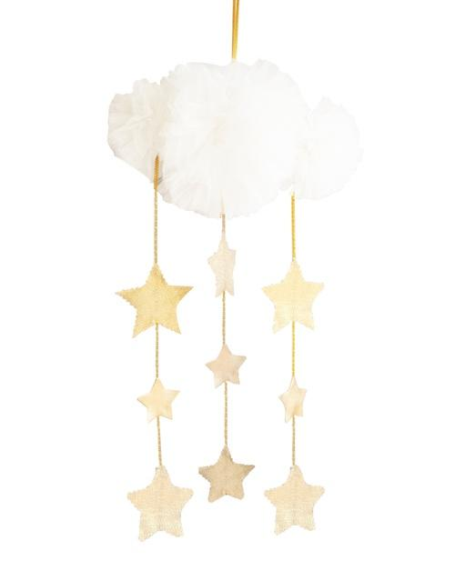 Buy Tulle Cloud Mobile Pink Or White by Alimrose - at White Doors & Co