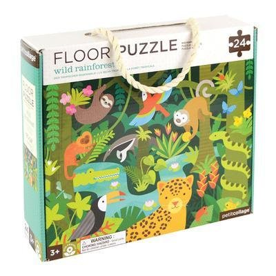 Buy Wild Rainforest Floor Puzzle by Wild & Wolf - at White Doors & Co