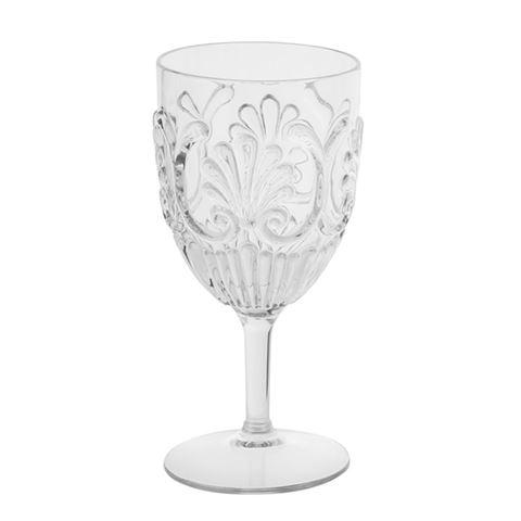 Buy Wine Glass Acrylic - Clear by Flair - at White Doors & Co